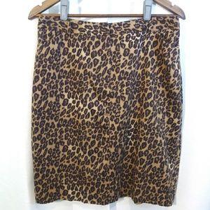 East 5th Skirts - East 5th Leopard print skirt. Sz 10